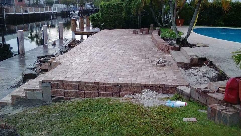 brick patio pavers in miami