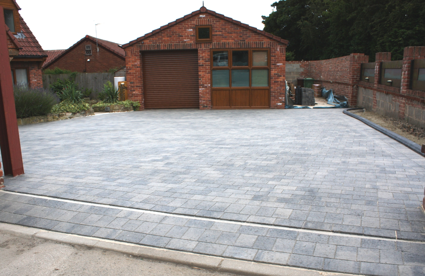 Block-driveway-installed