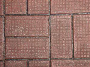 Block paving driveway pattern basketweave