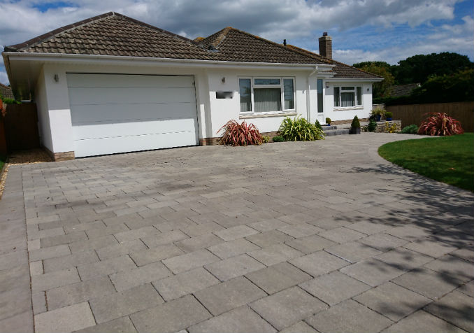 large block paving
