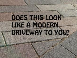 Modern Driveways block paving Marshalls Driveline Metro