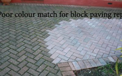 Block paving driveway repairs – Don't end up like this!