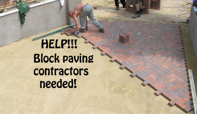 Block paving contractors and finding a professional one
