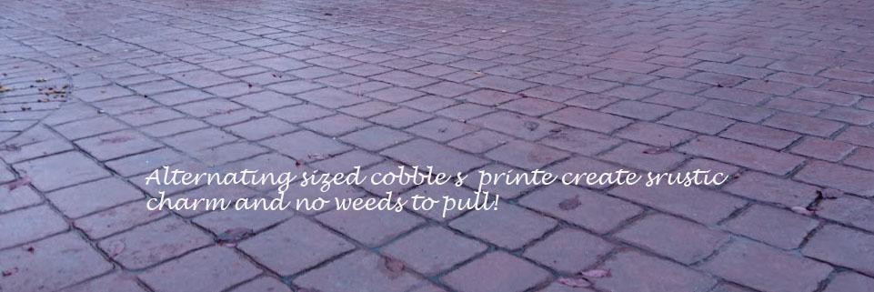 imprinted driveways