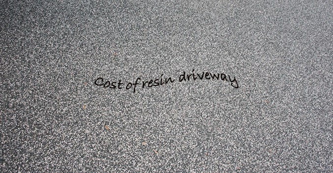 cost of resin driveway