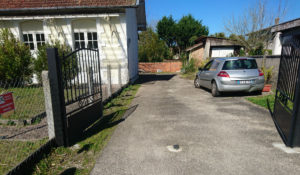 driveway in Europe