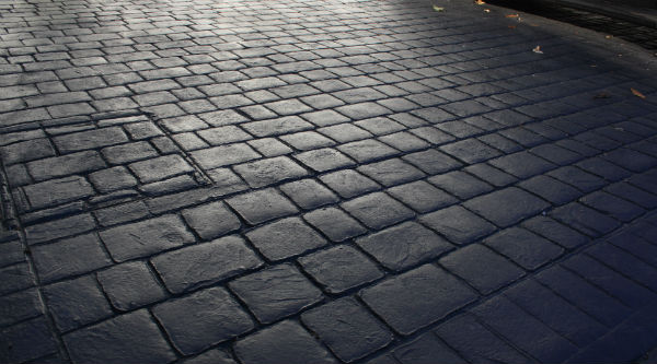 printed concrete driveways