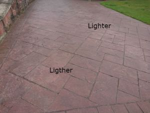 pattern imprinted concrete driveway faqs installation time what