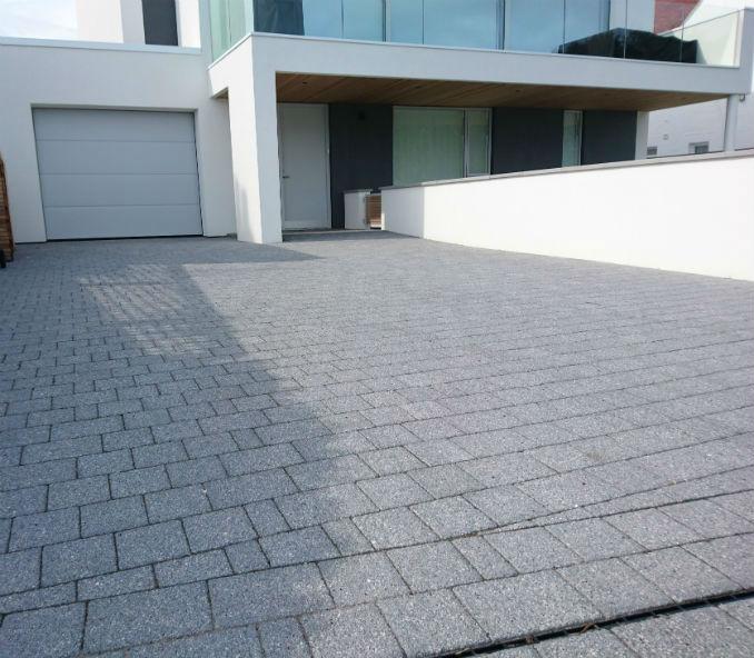 modern block paving