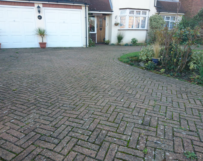 older style block paving bexley