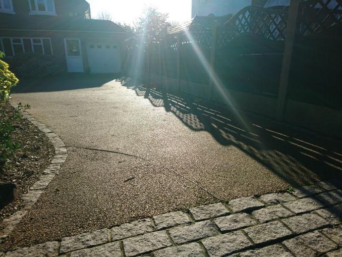 driveway resin kent