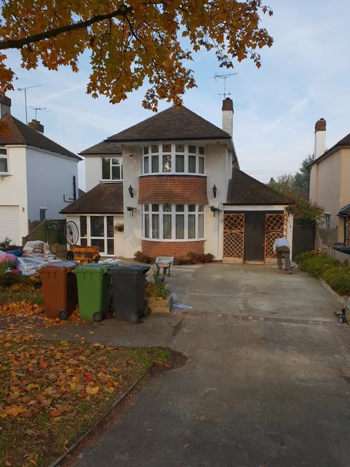 Resin Bound Surfacing Speciaists  driveway preparation Epsom Surrey