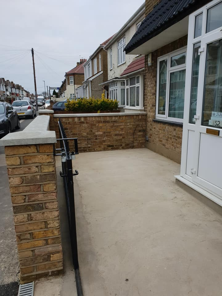 Resin Bound Surfacing Specialists ground work for resin driveway