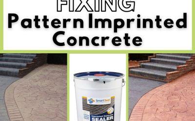 Pattern Imprinted Concrete Sealer