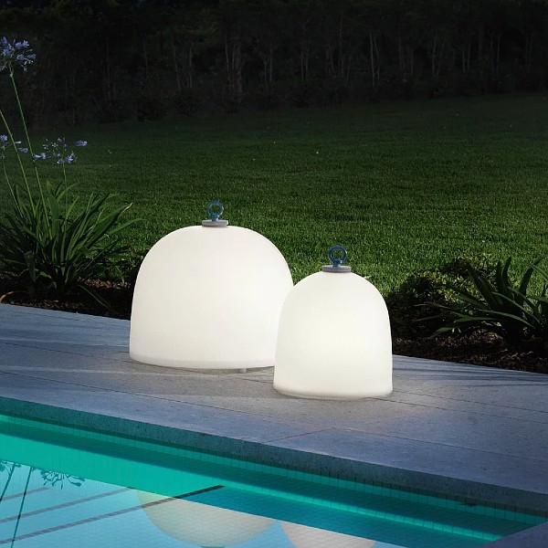 Campanone Rechargeable Outdoor Floor Lamp by Modoluce