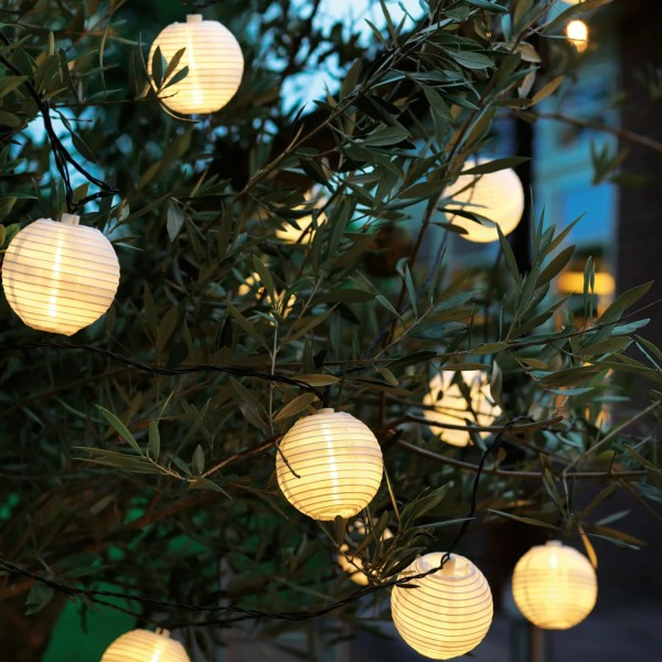 LED Solar Lantern Chain