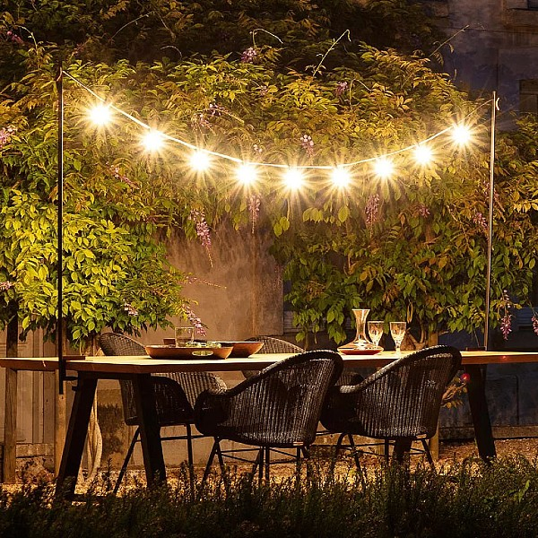 Light My Table L200-300 cm Outdoor by Vincent Sheppard