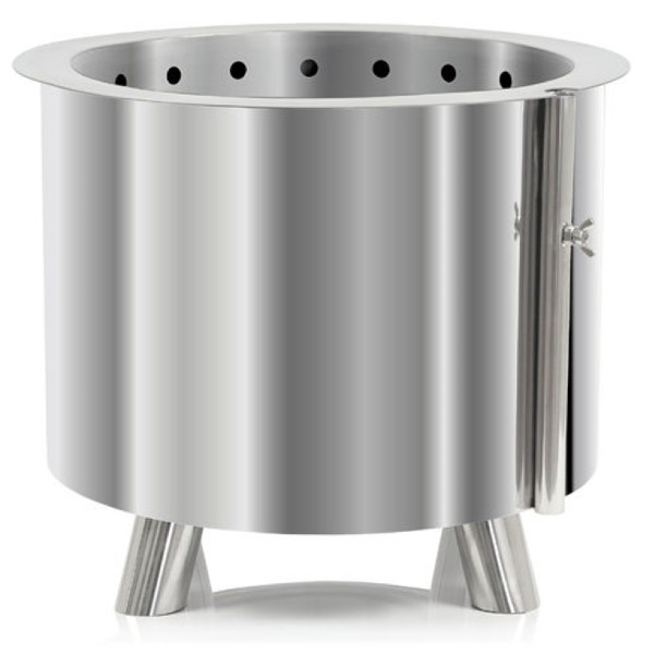 Toro stainless steel fire barrel