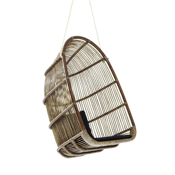 Renoir Rattan Hanging Chair by Sika Design