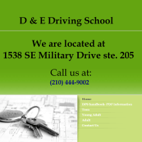 D & E Driving School – San Antonio, TX 78222
