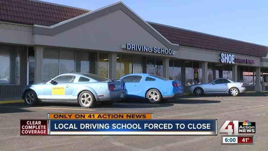 Driving School Closed