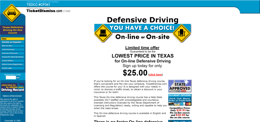 Safe Driver Centre - Texas Defensive Driving