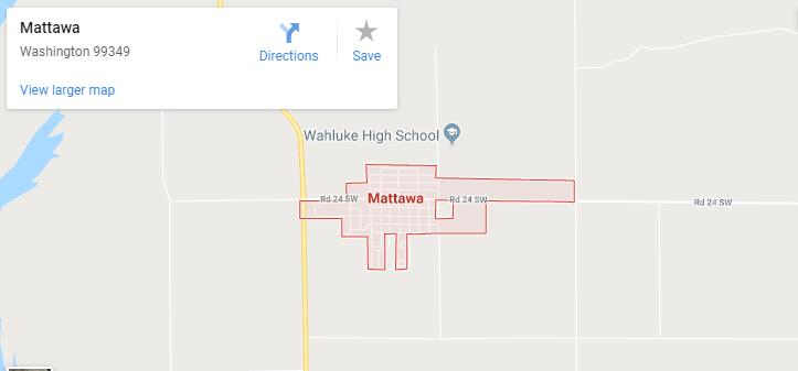 Maps of Mattawa, mapquest, google, yahoo, bing, driving directions