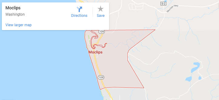 Maps of Moclips, mapquest, google, yahoo, bing, driving directions