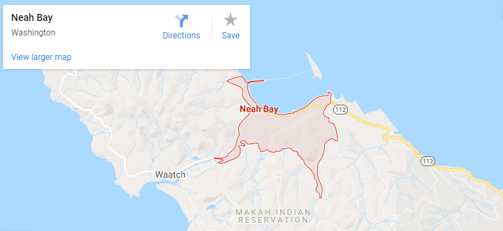 Maps of Neah Bay, mapquest, google, yahoo, bing, driving directions