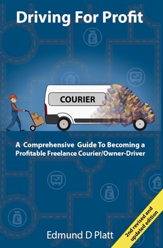 DFP book, version 2, freelance courier, parcel delivery, van driver, owner-driver, van, driving, courier, couriering