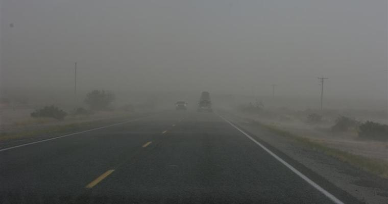 Out Of The Blizzard And Into The Haboob