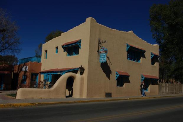 Taos building