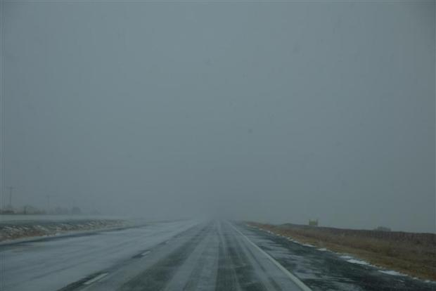 Then it turned into this right after we got into New Mexico.
