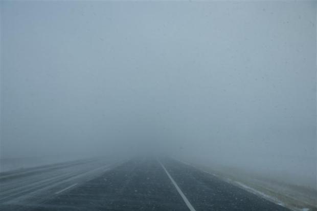 Visibility 20 yards.