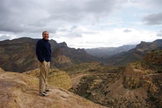 Paul on the edge