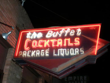 Dive Bar Serendipity in Tucson at The Buffet Bar and Crock Pot