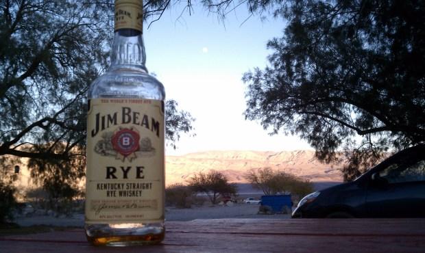 Jim Beam Rye, Death Valley.