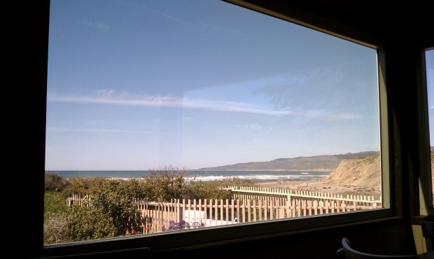 The view of the Pacific.