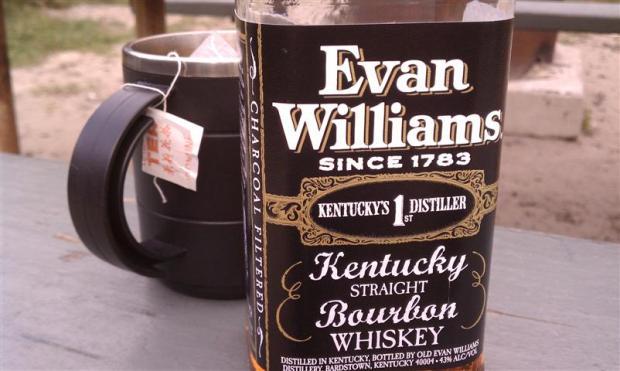 Drink cheap like Abbey -- get Evan Williams.