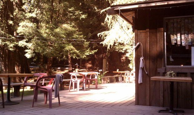 The Henry Miller Memorial Library in Big Sur -- a wonderful place to relax.