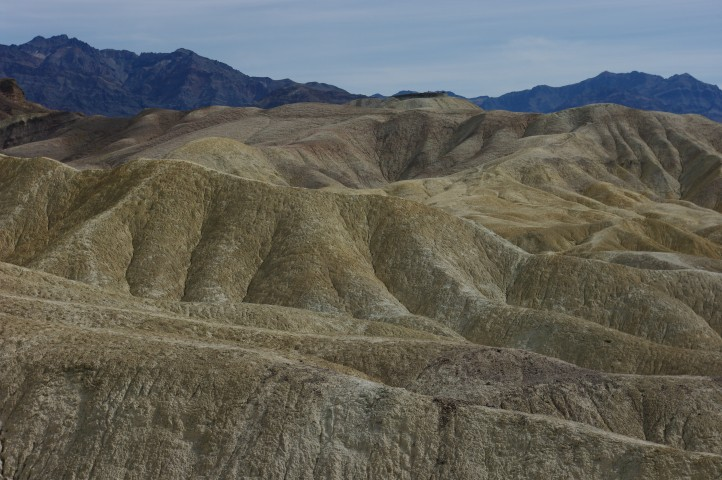 Zabriskie Point is the small wall in the upper center.