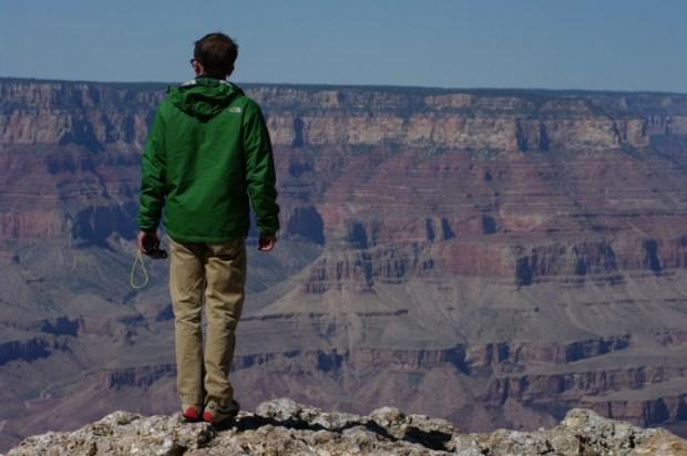 Paul on the edge.