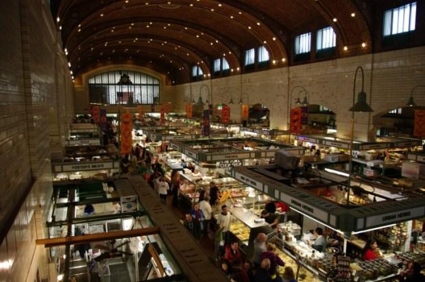 The West Side Market.