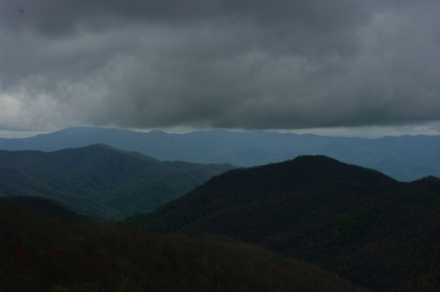 As we drove higher, it felt like we were going to merge into the clouds.