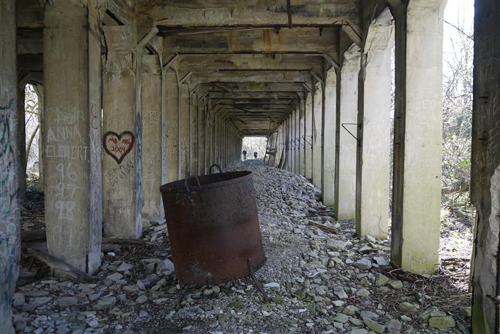 Mining Ruins, Kelleys Island.