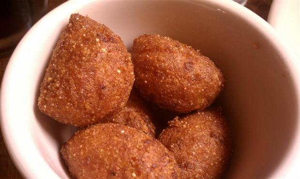 Hushpuppies at Southend Brewery.