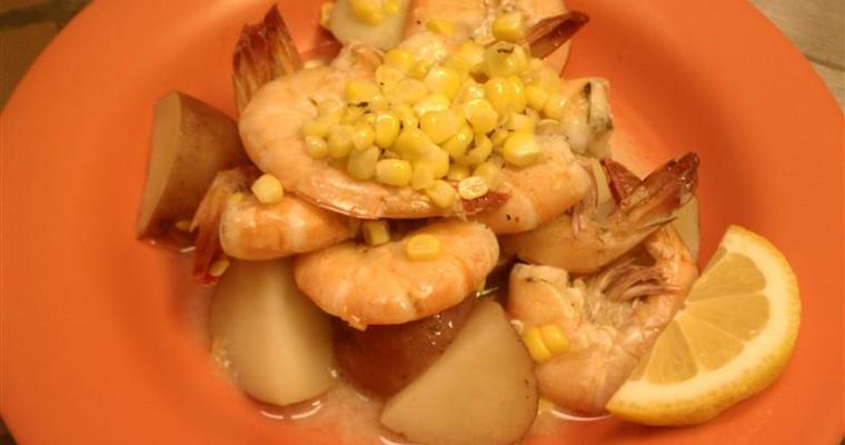 Charleston Shrimp Boil