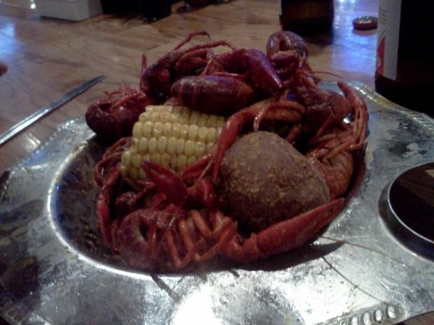 Crawfish: Good.
