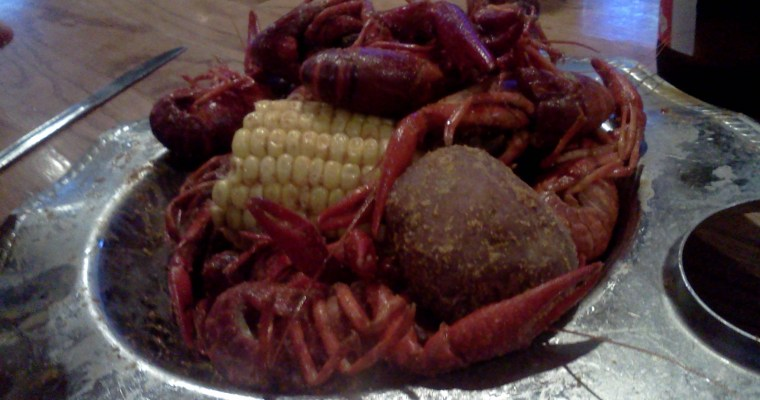 Well, at least the Crawfish were good.