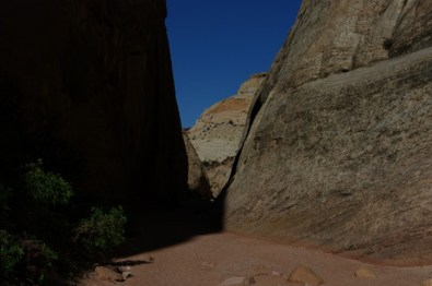 Light in the narrows.